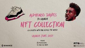 Alphonso Davies NFT Launch