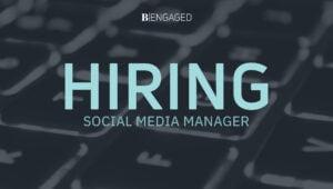 JOB: Social Media Manager