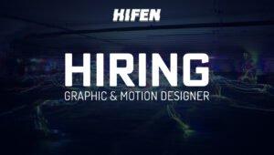JOB: Graphic & Motion Designer